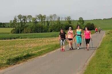 Marche Nordique Adaptee Sport Sante