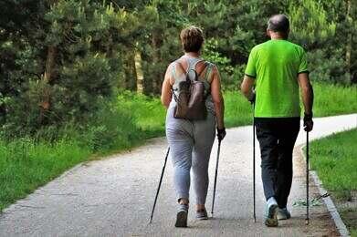 Marche Nordique Santé Couple